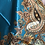Thumbnail: TURQUOISE WITH GOLD PAISLEY