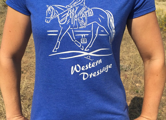 WESTERN DRESSAGE LADIES TEE
