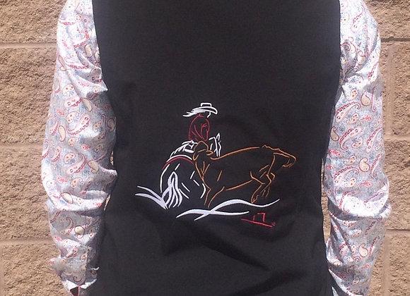COWHORSE WOMEN'S SOFTSHELL VEST