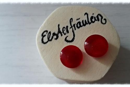 "Ohrstecker ""Farbenreich"" - Rot"