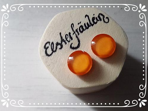 """Ohrstecker """"Gelb-Orange"""""""