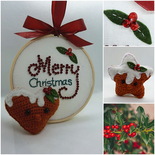 "Türhänger ""Merry Christmas"""