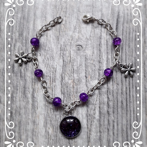 "Armband ""Violett"""