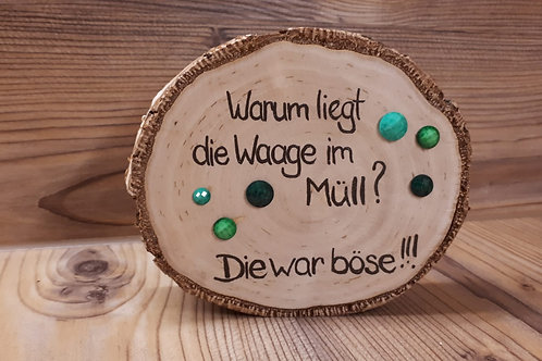 Holzscheibe
