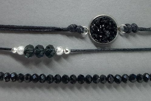 Armbänder Black Queen (3er - Set)