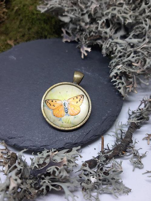 "Anhänger ""Butterfly"" Bronzefarben"