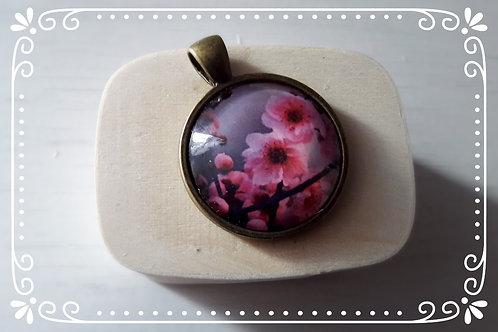 """Anhänger """"Blütenfrühling"""" Bronze"""