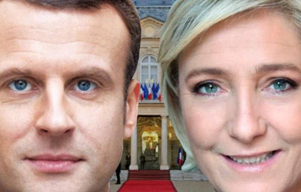 Patrice Gassenbach Emmanuel Macron Marine Le Pen