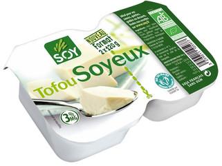 Le tofu soyeux