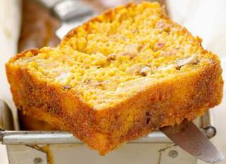 Cake potiron bacon emmental