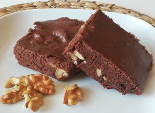 Brownie aux noix sans beurre et à IG bas