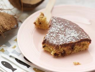 Gâteau coco chocolat façon bounty
