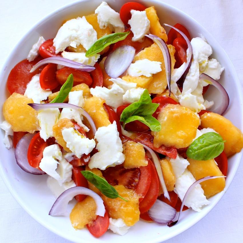 tomates oignons peches