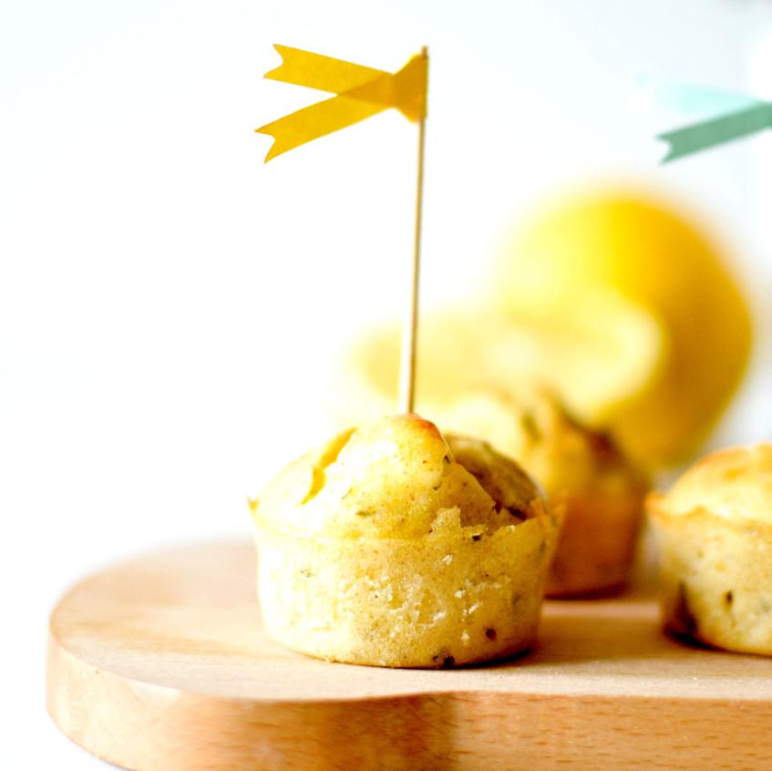 muffin citron thym