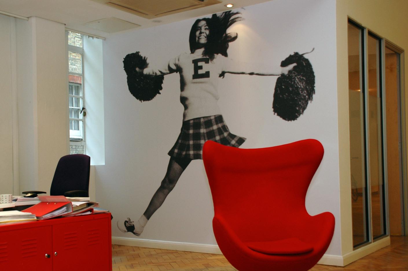 Internal office graphics