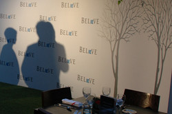 Specialist Step & Repeat wall