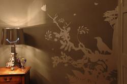 Interior wall vinyls