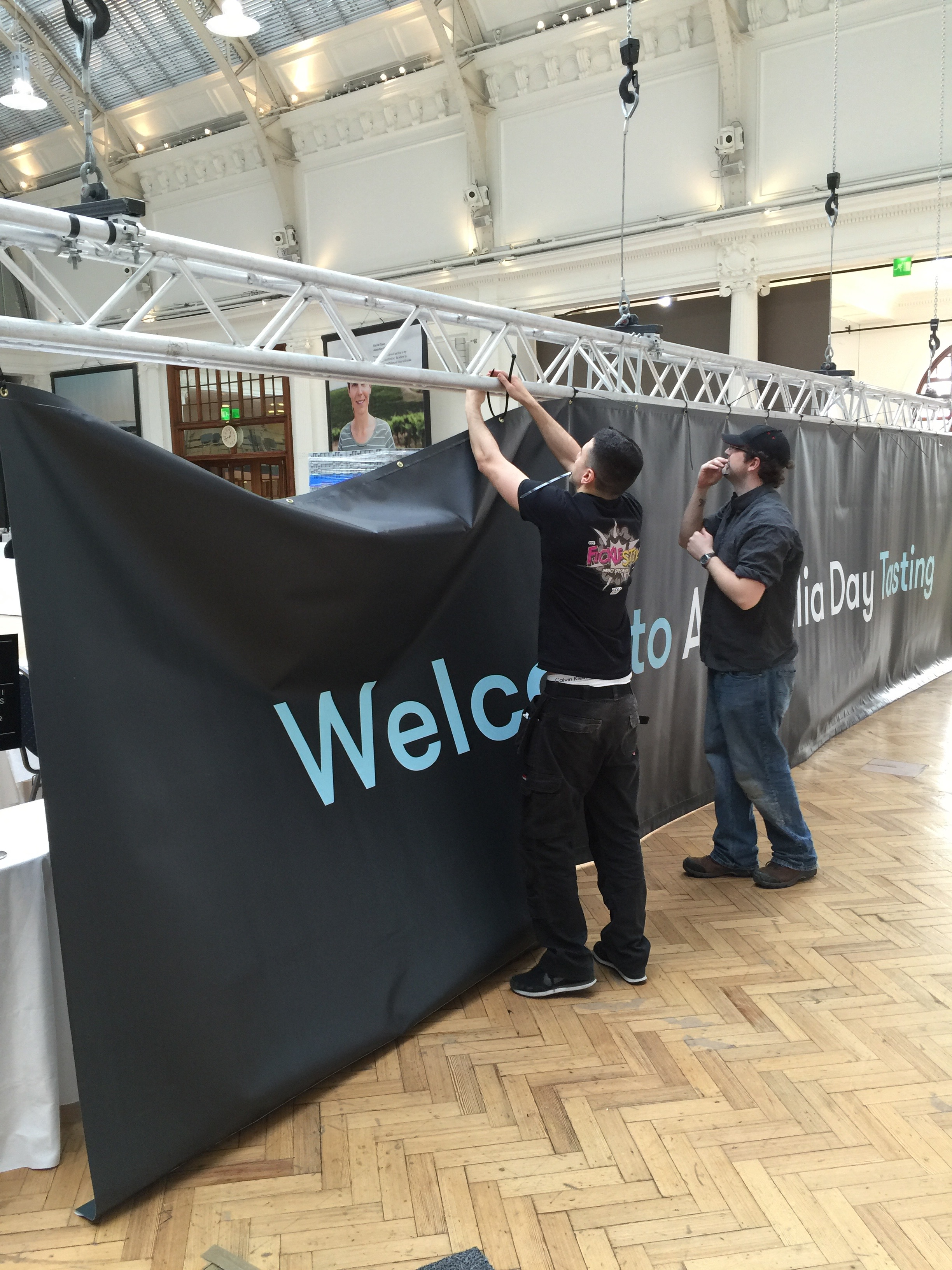 Wide format print PVC banner