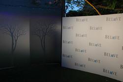 Bespoke brand wall
