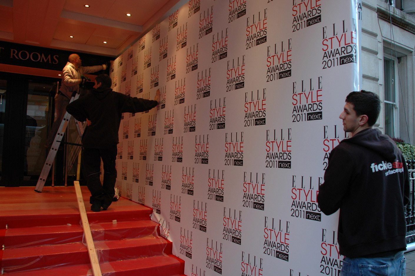 Bespoke Step & Repeat wall
