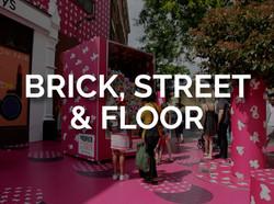 BRICK, STREET & FLOOR