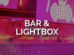 BAR & LIGHTBOX