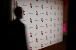 Step & Repeat wall