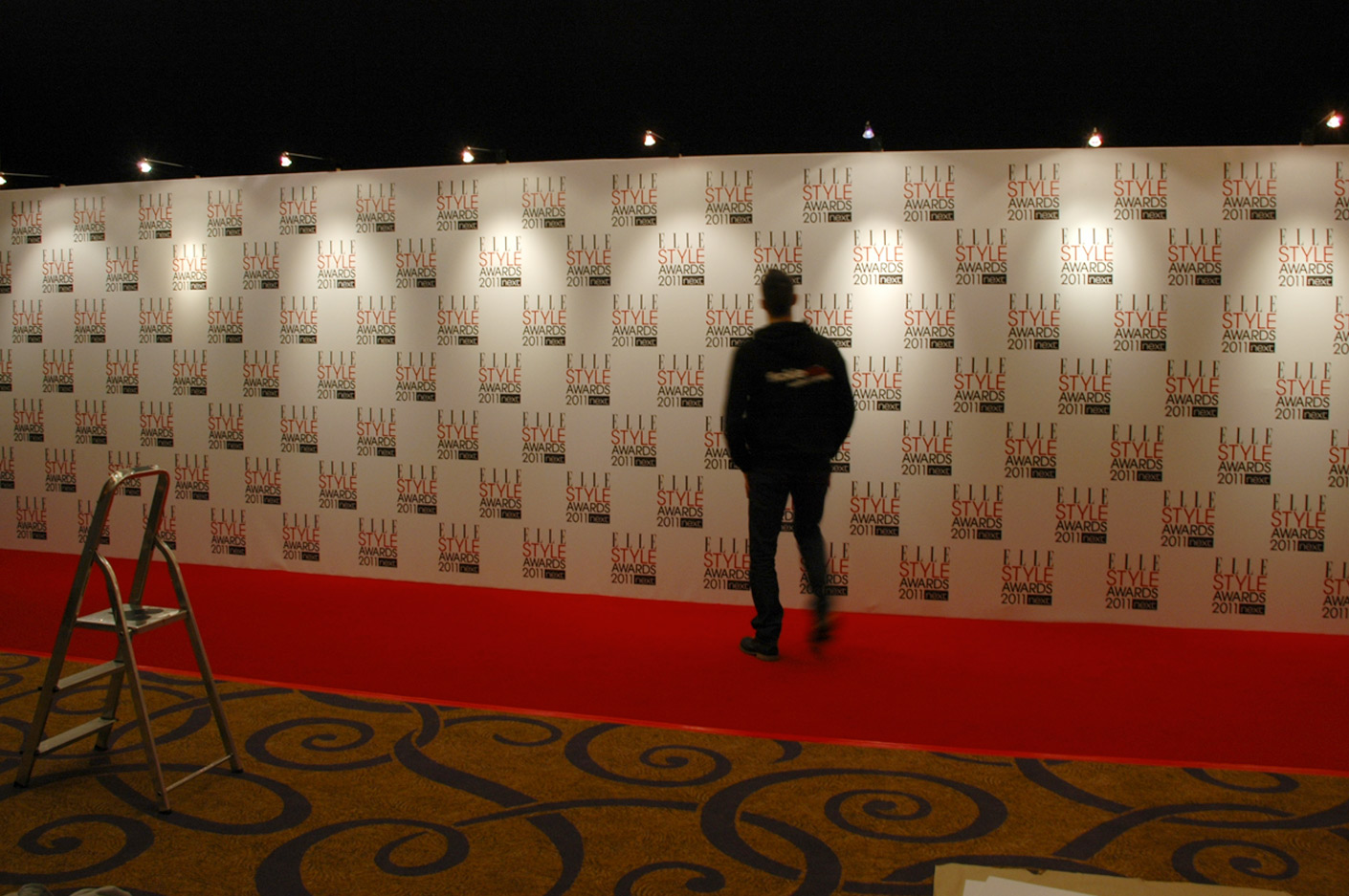 Bespoke Step & Repeat board