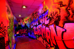 Graffiti event graphics