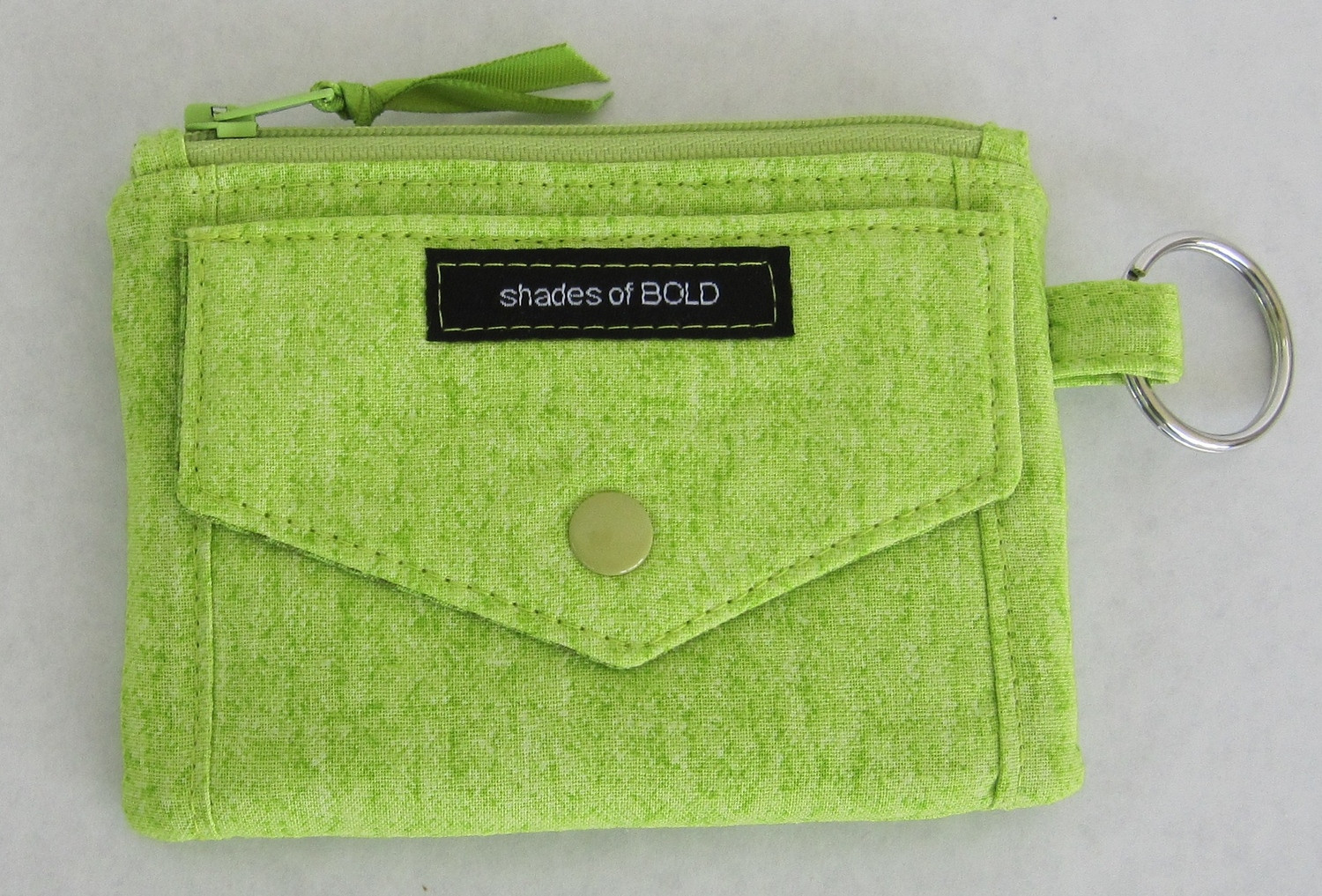 Kristine+ID+Wallet+green+front+pocket+-+