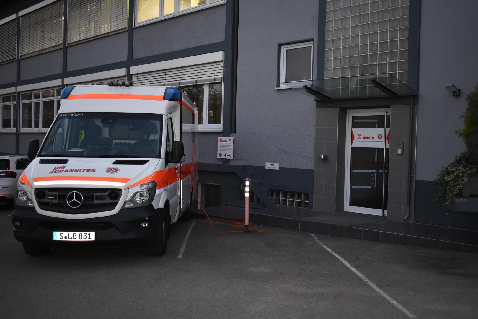 Rettungswache 14 LB-Neckarweihingen (JUH)
