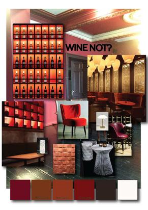 Wine bar in Brussels