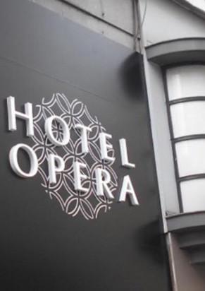 The Hôtel Opéra in Brussels