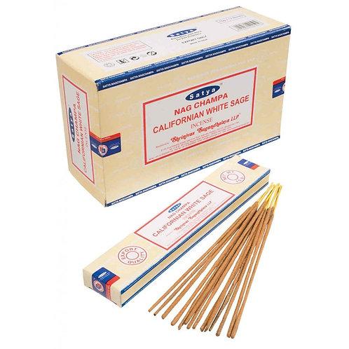 Satya Incense 15gm - CALIFORNIAN White Sage