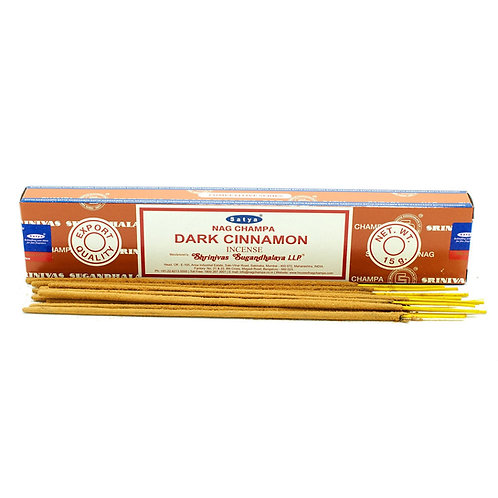 Satya Incense Sticks 15g - Dark Cinammon