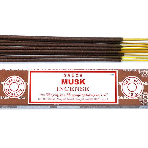 Satya Incense 15gm -Musk
