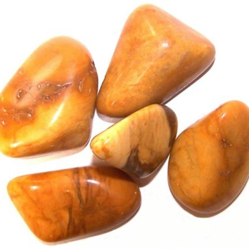Yellow Jasper  - Large Tumble Stones