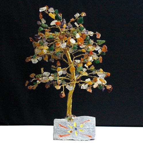 Multi-Gemstone Crystal Tree - 320 Stone