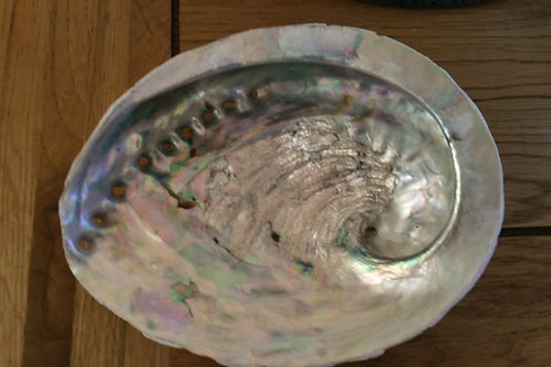 Abalone Shell Smudging Dish - Sustainably Sourced