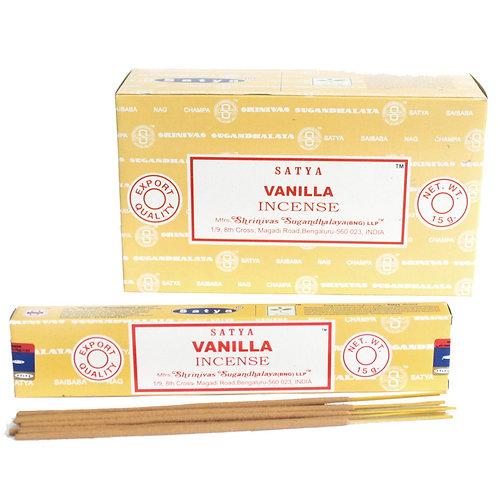 Satya Incense 15gm -Vanilla