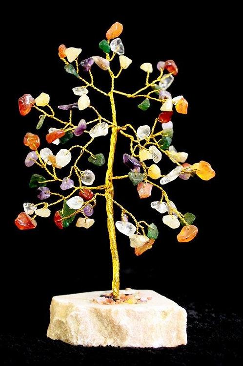 Multi-Gemstone Crystal Tree - 80 Stone