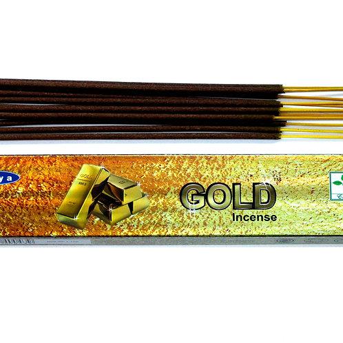 Satya Incense 15gm -Gold