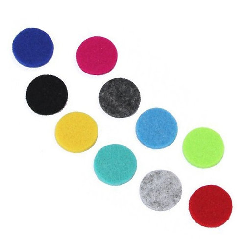 Aromatherapy Necklace Reusable Refill Pad - 25mm
