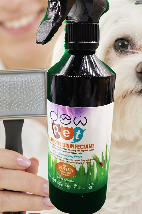 DEW PET ALL-IN-ONE SANITISER -EQUINE, CANINE, DOG GROOMERS, VETS