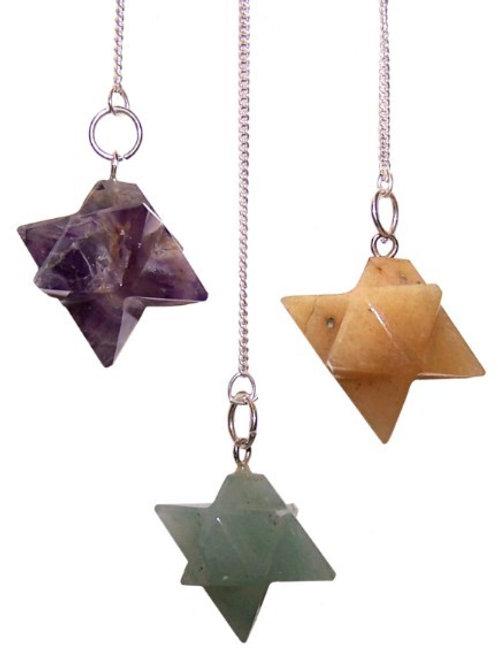 Merkaba (star) Pendulums - (asst)