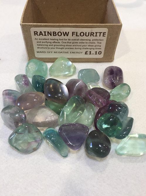 Rainbow Fluorite - Medium