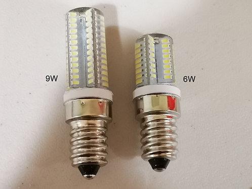 BRIGHT  COOL WHITE LED Selenite Lamp bulbs 6W & 9W