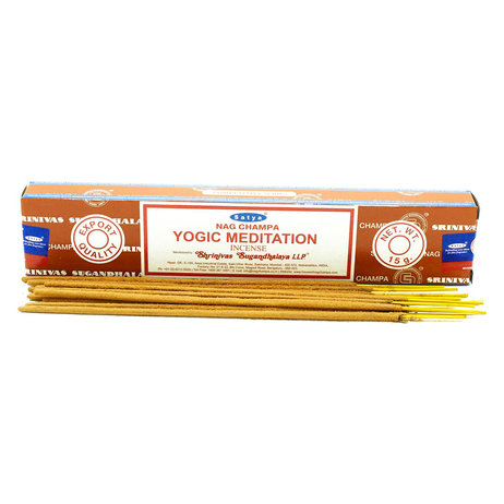 Satya Incense Sticks 15g - Yogic Meditation