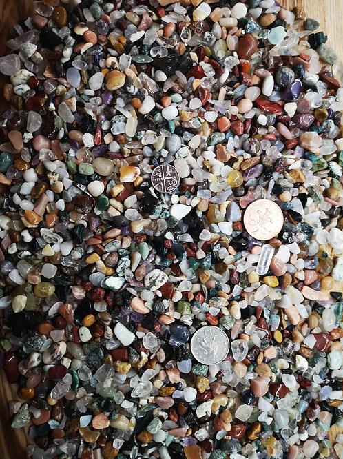 Crystal Gemstone chips  x 50g, 100g, 200g,300g  packs