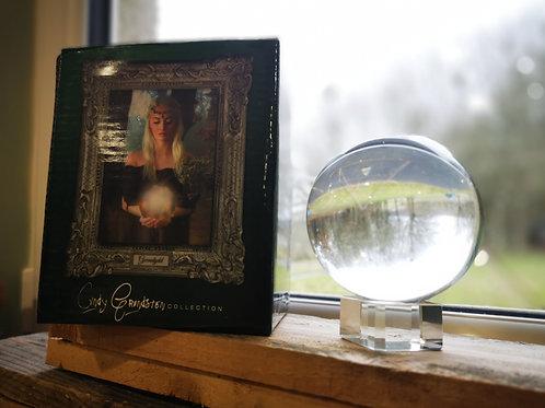 Cindy Grundsten Crystal Ball - gazing or crystal visioning, manifest, scrying